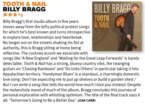 Billy Bragg review