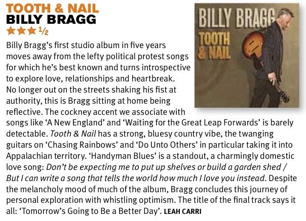 Billy Bragg review